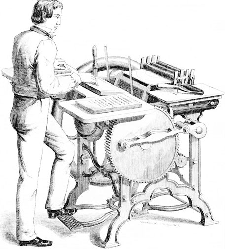 The Franklin press of George Phineas Gordon