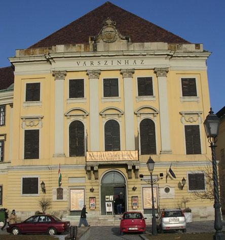 Buda Castle Theatre, designed by Kempelen