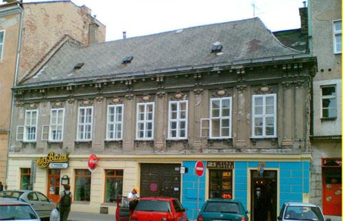 The native house of Kempelen in Braislava