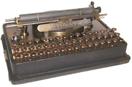 Automatic Typewriter of Emery Hamilton