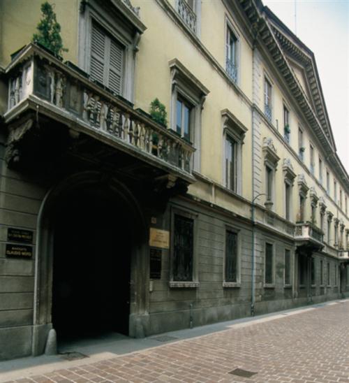 The native house of Volta in Como, Via Alessandro Volta Como 60