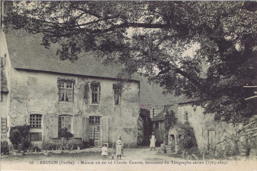 The house of Chappe family from 18h century