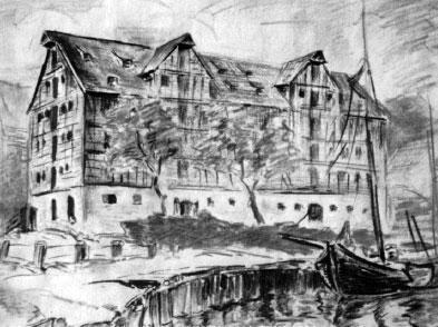 A drawing from Konrad Zuse