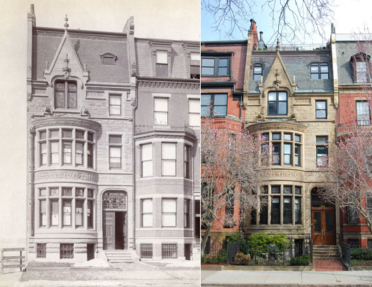 The house of Edmund Barbour in Boston, 344 Beacon Street