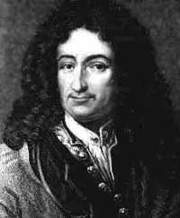 Gottfried Leibniz portrait