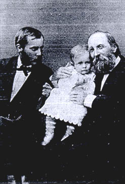 Thomas Hill and his family