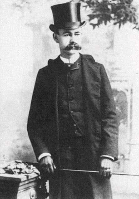 Herman Hollerith in 1880