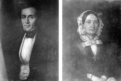 John Collett (1807-1891) and Antoinette Johanne (Smith) Collett (1811-1874)