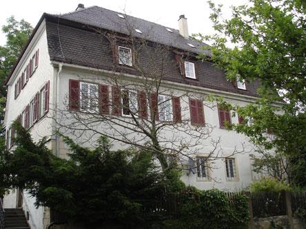 The new Pfarrhaus (rectory) in Kornwestheim