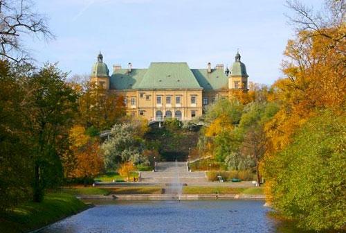 Ujazdowski Castle in Warsaw