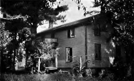 Home of Leonard Noyes in Genoa, N. Y., birthplace of La Verne Noyes