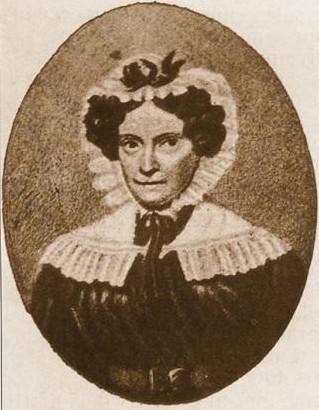 Maria Teresa Alonsa Peregrini, the wife of Alessandro Volta