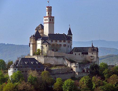 Castle Marxburg bey Braubach