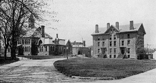Phillips Exeter Academy in 1920s