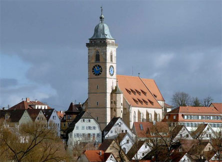 Stadtkirche St. Laurentius in Nürtingen