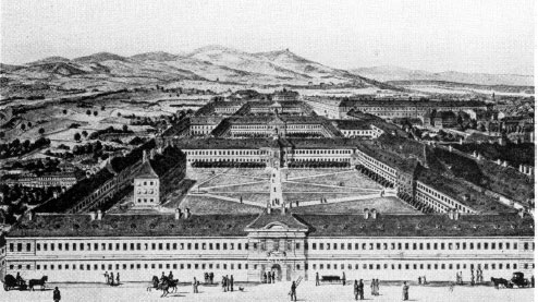 The medical school in Vienna, situated in the General Hospital