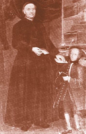 The Jesuit Father Girolamo Bonesi and Alessandro Volta in middle 1750s