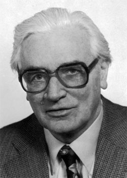 Konrad Zuse, the creator of the first relay computer