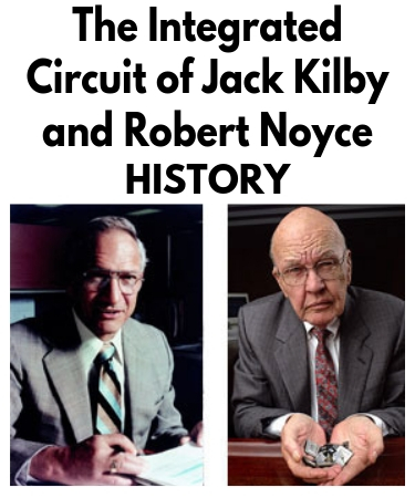 integrated circuit history of the integrated circuit (ic)The Integrated Circuit Is Invented By Jack Kilby In 1958 #12