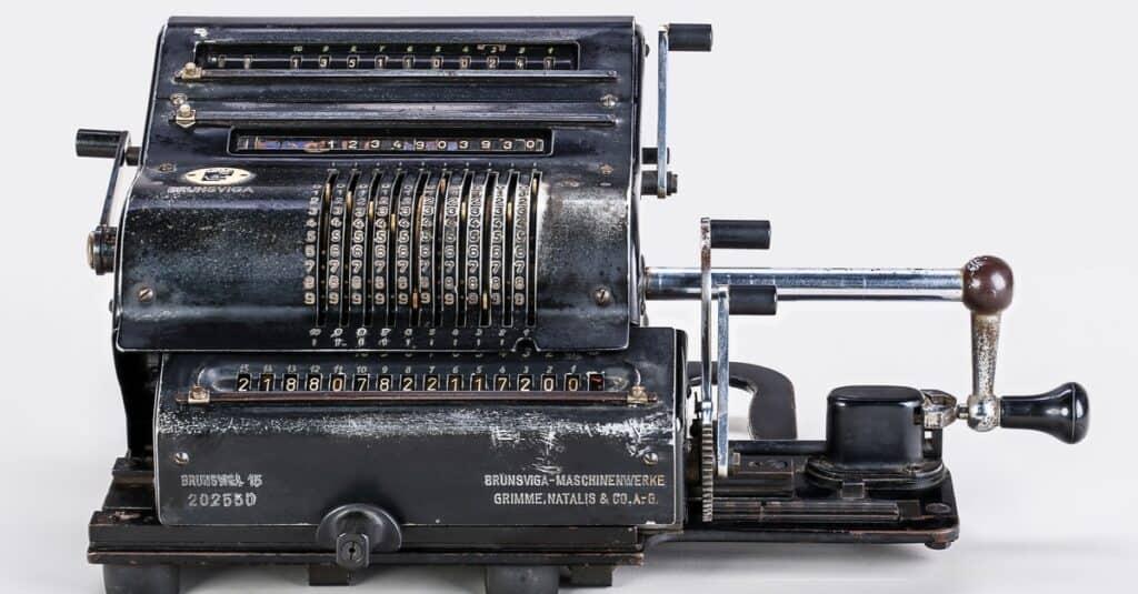 Boolean Logic mechanical calculator