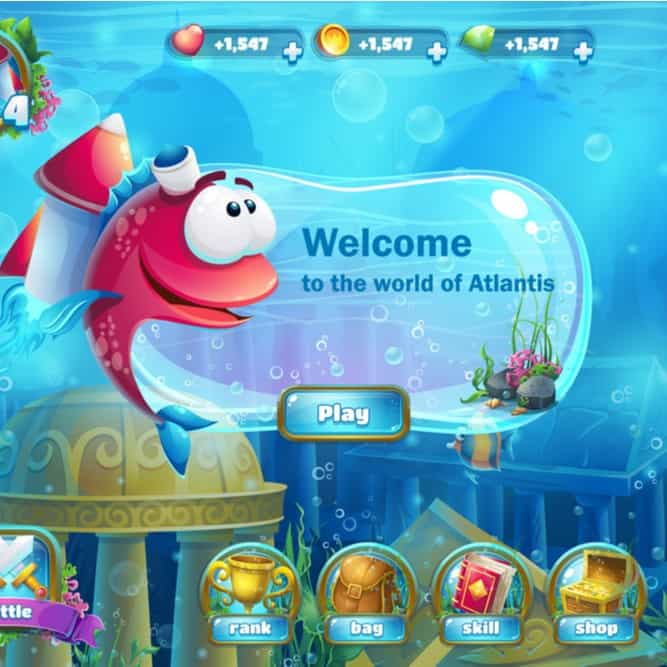 Graphical User Interface game