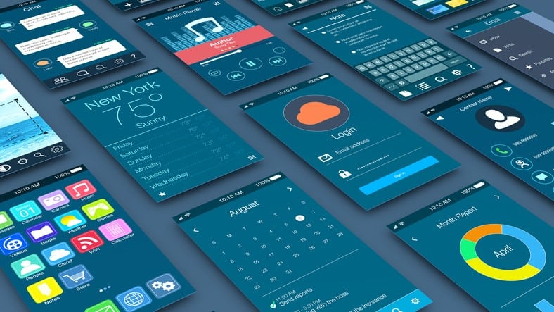 Graphical User Interface mobile devices