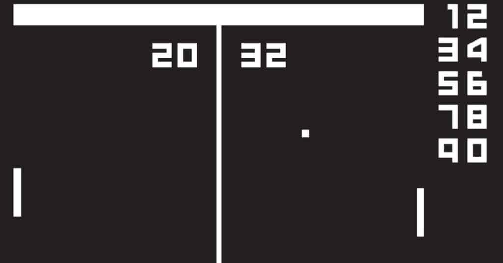 History of Atari pong game