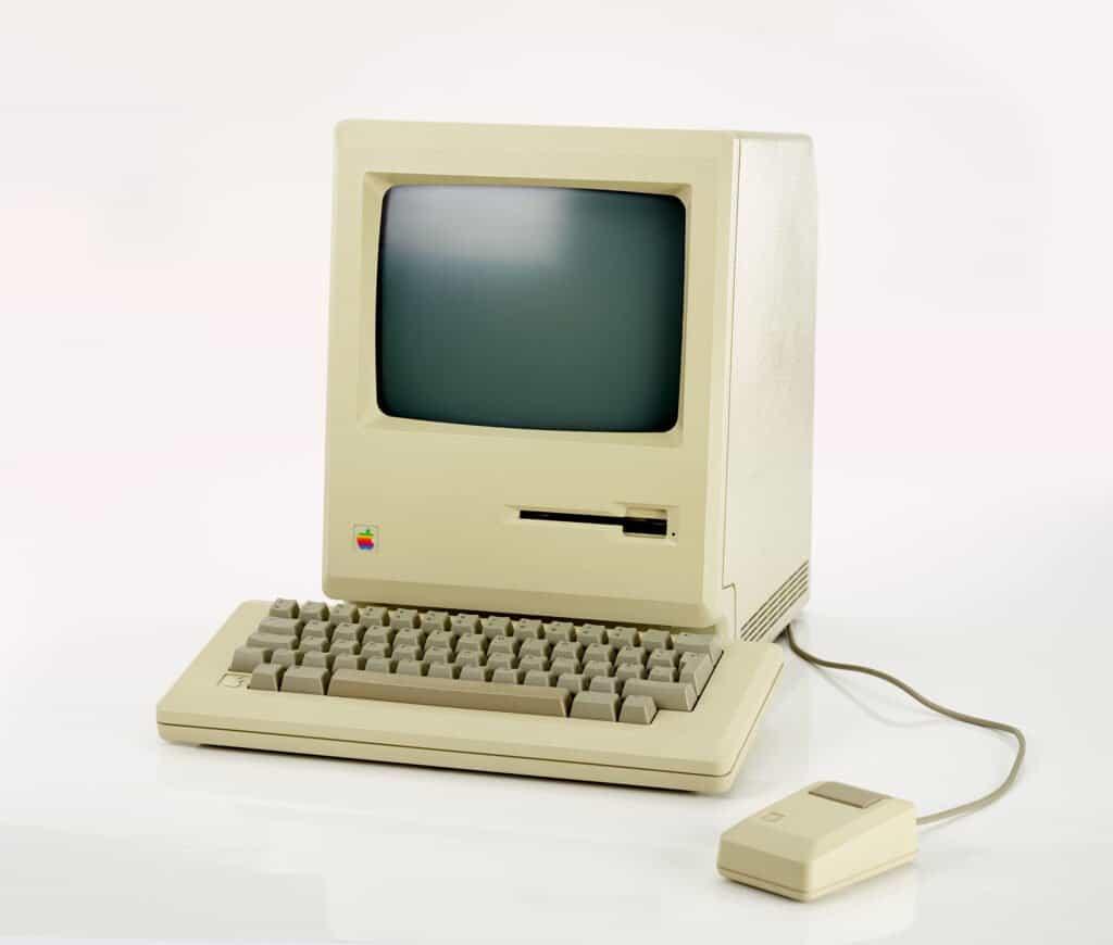 The first Macintosh computer