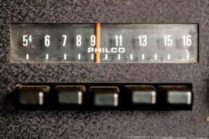 Philco car radio