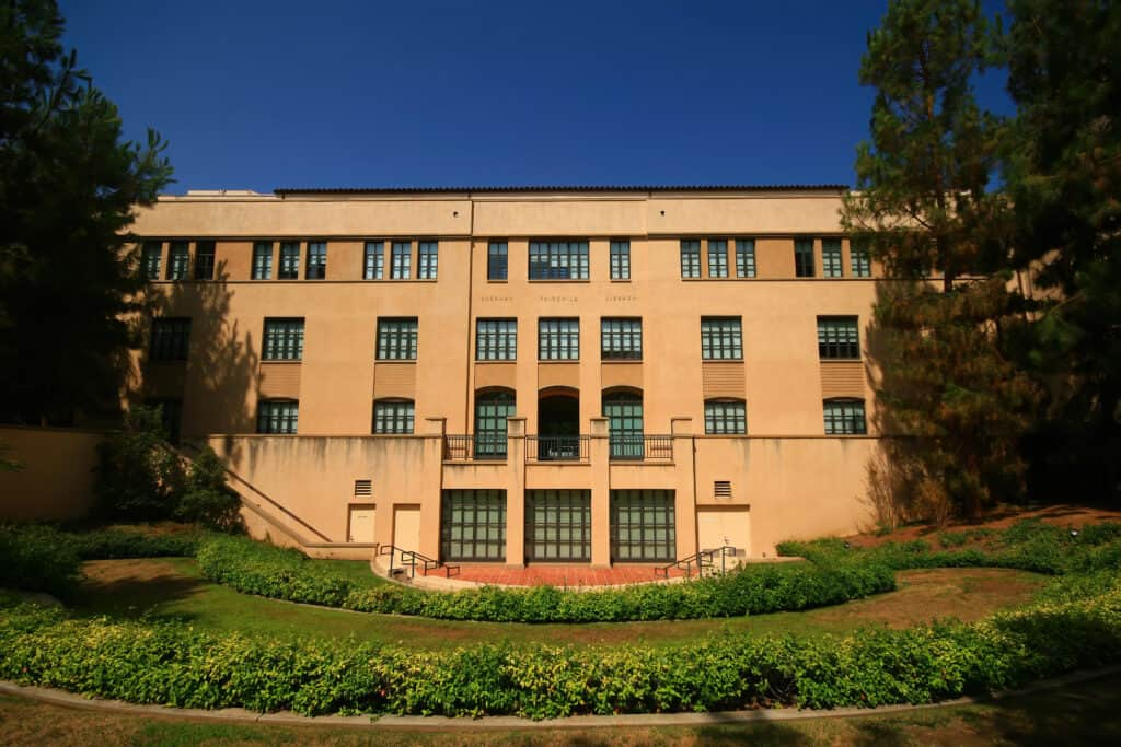 The Sherman Fairchild Library of the California Institute of Technology