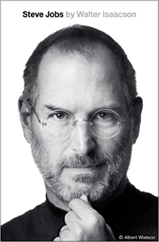 Cover of Steve Jobs biography by Walter Isaacson