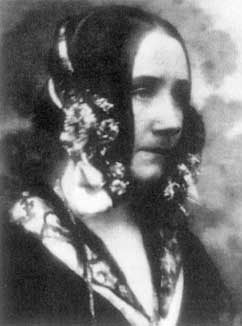 Black and white portrait of Ada Lovelace, for whom Ada Lovelace Day is named