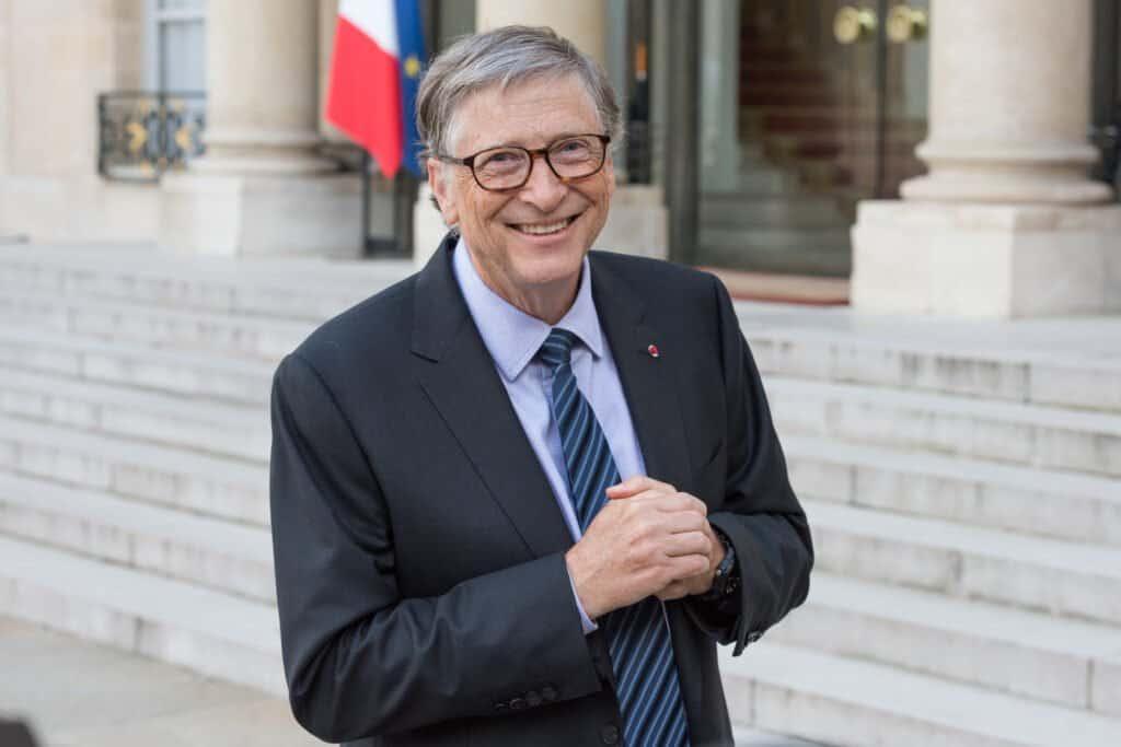 Bill Gates color portrait