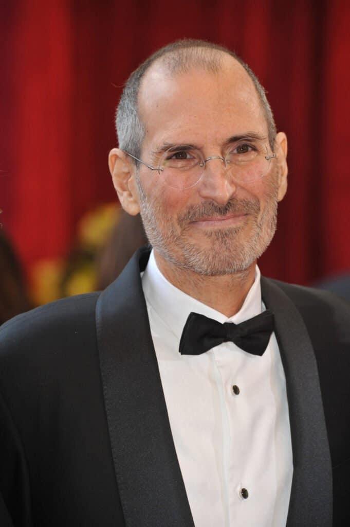 Steve Jobs in a tuxedo