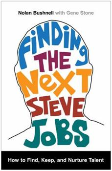 Finding the Next Steve Jobs book cover
