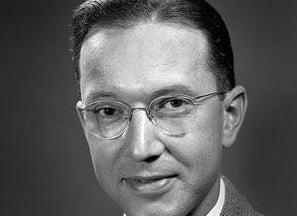 William Higinbotham black and white headshot