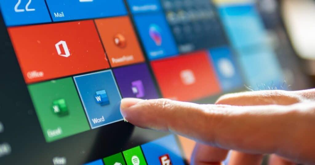 Windows interface